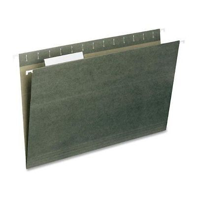 Smead Hanging File Folder with Tab, 1/3- Cut Adjustable Tab,Legal Size,New 25ct.