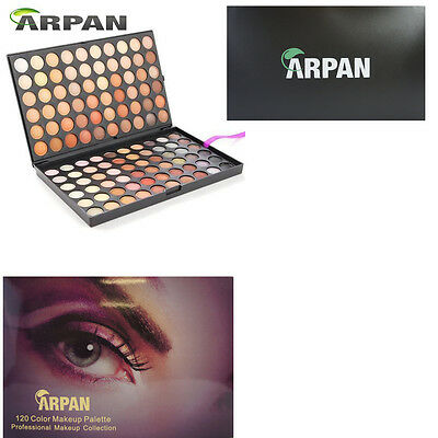 120 Colour Professional Eye shadow Palette Makeup Box Ideal for Gift - MP-9012