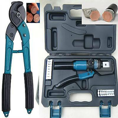 4-70mm HYDRAULIC CRIMPING TOOL KIT CRIMPERS CRIMPER CABLE CUTTER ( NON-RATCHET )