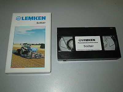 VHS Video - Lemken Solitair - Pneumatische Drillmaschine - Werbevideo