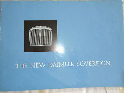 Daimler Sovereign brochure c1966