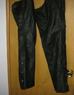 Leather Chaps by Event size S Motorcycle