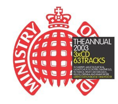 Various Artists : Ministry of Sound - The Annual 2003 CD FREE Shipping, Save £s