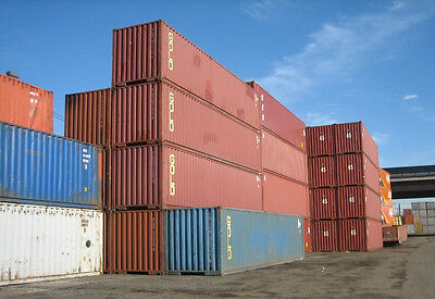 40ft Shipping Storage Container Conex Box / Los Angeles