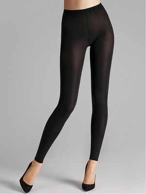 Wolford Velvet 66 Leggings, 66 Denier Black Leggings