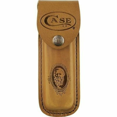 Case XX 9027 Genuine Leather Job Case Sheath (Large) for Pocket Knives