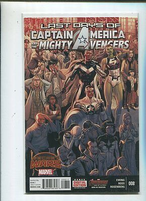 Last Days Of Captain America And Mighty Avengers # 8 Unread New / Near Mint  MD1