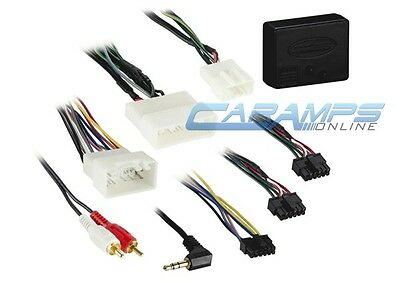New Car Stereo Replacement Factory Interface With Wiring Harness Adapter Plug