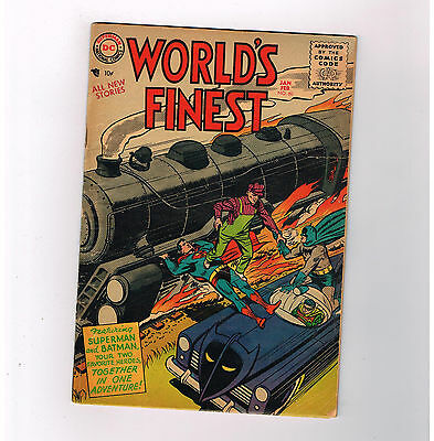 WORLDS FINEST #80 Fantastic Silver Age find from DC Comics!