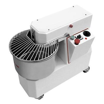 Spiral Mixer, Single Speed, 25kg Dough, Pizza / Bakery, Commercial Equipment