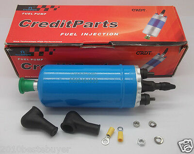 Universal Petrol Electrical Electric External Fuel Pump & Install Kit 0580464038