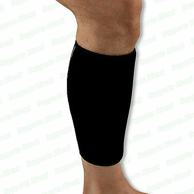Adjustable Compression Neoprene Calf Support Sleeve Shin Splints Muscle Injury