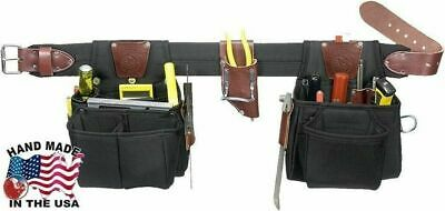 Occidental Leather 9525M The Finisher Set Medium Tool Belt with 25 Pockets