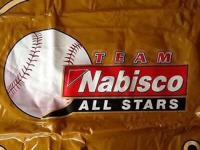 Inflatable Baseball Glove Team Nabisco All Stars- Oreo Ritz Triscuit Chips ahoy
