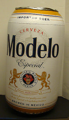 CERVEZA MODELO ESPECIAL 12oz. BEER CAN INFLATABLE BLOW UP SIGN NEW