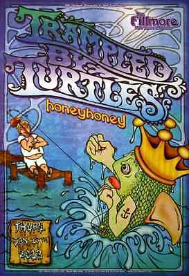 Trampled By Turtles Concert POSTER Honeyhoney Fillmore F1196 Mark DeVito