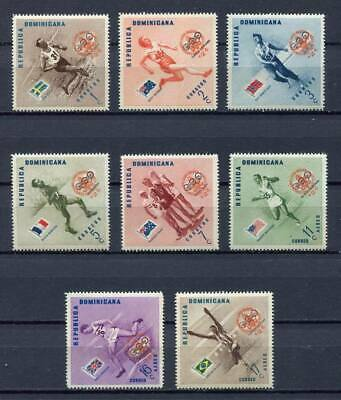 27912) DOMINICANA REP. 1957 MNH** Nuovi** Scout Baden