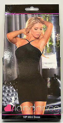 Lapdance Black VIP Mini Dress One Size Fits Most NIP