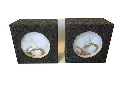 """Zenclosures 6.50"""" - 6.75"""" Speaker Box Boxes With/ 5.25"""" diameter mounting hole"""