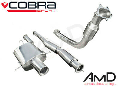 "Cobra Sport Subaru Impreza WRX STi 3"" Track Turbo Back Exhaust Sport Cat 93-00"