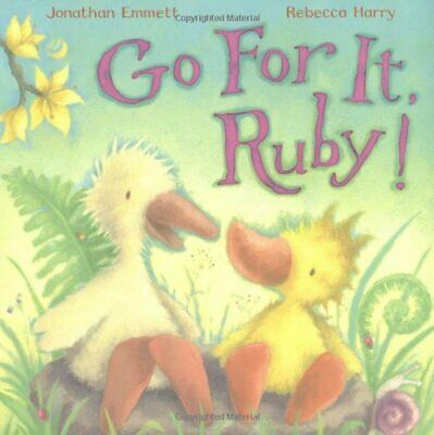 Go For It, Ruby! by Emmett, Jonathan Paperback Book The Cheap Fast Free Post