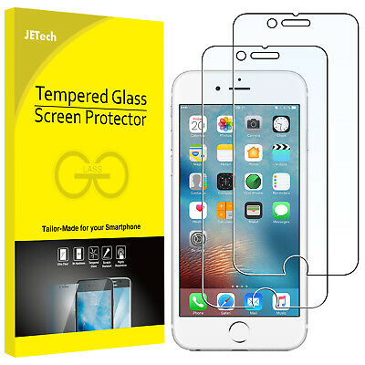 JETech Screen Protector for iPhone 6s Plus iPhone 6 Plus Tempered Glass 2-Pack