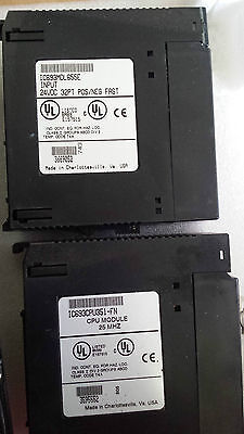 LOT OF 2 FANUC IC693MDL655E PLC Module