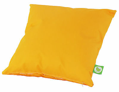 Waterproof Outdoor Garden Furniture Seat Bench Cushion Filled with Pad - Yellow