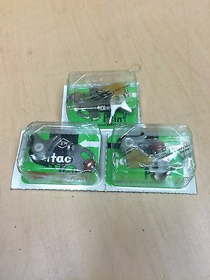 KAWASAKI H1 H1A H1B KH500 500cc TRIPLES SET OF 3 CONTACT POINTS Made in Japan