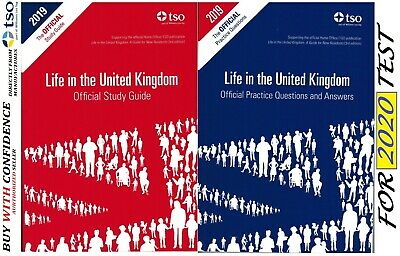New Life in the United Kingdom UK 2017 3rd edition Citizenship Test Book *Std+QA