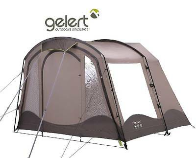 Gelert Lakesbury 4 tent front enclosed porch - TEN342 (Chestnut/sandshell/cocoa)