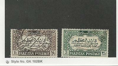 Pakistan, Postage Stamp, #44-45 Used, 1949