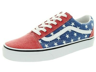 db2dee11adf Vans OLD SKOOL Stars   Stripes Shoes (NEW) AMERICA FLAG USA Mens Size 10