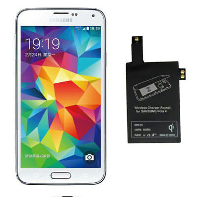 Qi Wireless Charger Charging Receiver Accept Kit for Samsung Galaxy S5 i9600
