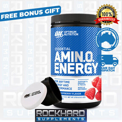 Optimum Nutrition Amino Energy 30 Serves BCAA Recovery Amino Acids New Flavours