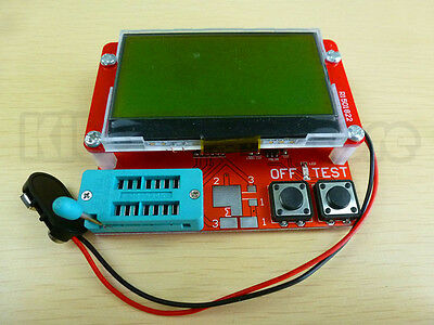 All-in-1 Component Tester Transistor Diode Capacitance ESR Meter Inductance US