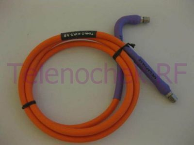 """Megaphase TM40 RF microwave coaxial cable 2.92mm(m) / DC - 40.0 GHz 48"""" / 4 ft"""