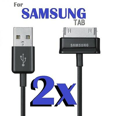 2xGenuine Samsung Galaxy Tab 2 7.0 10.1 Inch Tablet USB Data Charger Cable Note
