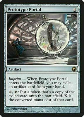 Prototype Portal ~ Scars of Mirrodin ~ Excellent+ ~ Magic The Gathering