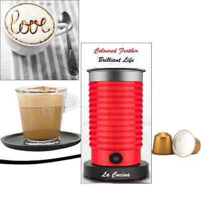 Coffee Milk Frother & Warmer High Volume Electric Automatic Cappuccino Latte