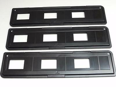 3x VEHO 35mm Slide Mount Trays for VFS-002M Colourbright Film Scanner (50x50mm)
