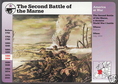 american troops in the second battle of the marne Rock of the marne: the american soldiers who turned the tide against the kaiser in world war i by stephen l harris (berkely caliber, 2015) the second battle of the marne was precipitated by ludendorff's fourth and final offensive.