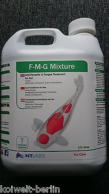 Koi Care FMG Mixture 2.500 ml gegen Parasiten