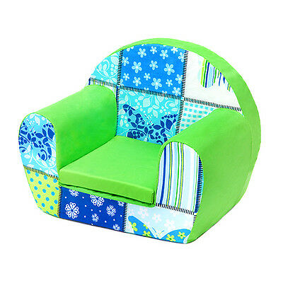 Butterflies Childrens Kids Comfy Foam Chair Toddlers Armchair Seat Girls Reading