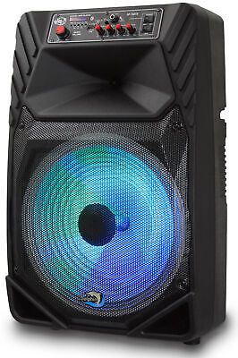 """Dolphin SP-15BTR 1900W Rechargeable 15"""" Bluetooth Tailgate Speaker"""