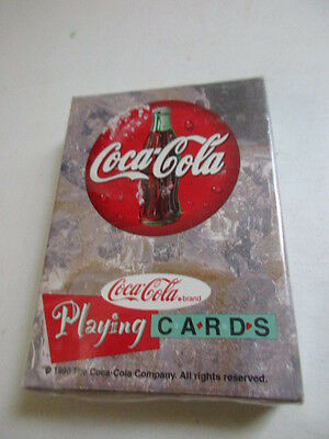 Vintage Playing Cards Coca-Cola - Deck of Cards - Dated 1998 - Factory Sealed