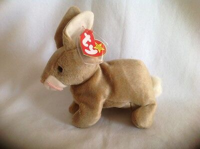 Ty Retired Nibbly Bunny Beanie Baby 1999