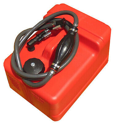11.3 Litre OUTBOARD FUEL TANK ✱ JOHNSON FUEL LINE ✱ 11 LT Boat Petrol Portable