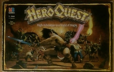 Hero Quest (MB Games 1989) - Spares - Excluding Furniture & Miniatures
