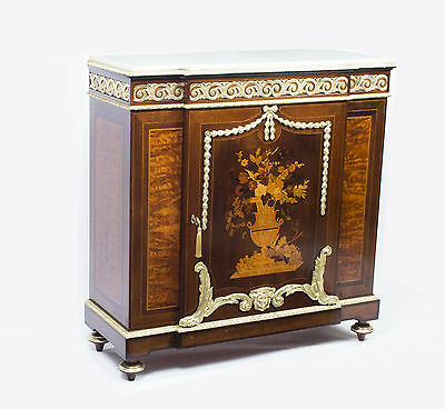 Antique French Louis XV Marquetry Cabinet c.1860